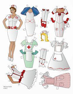 Nurse Paper Doll
