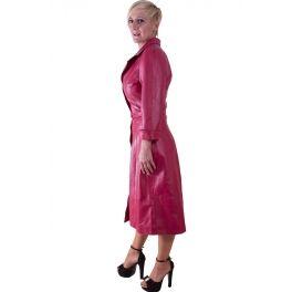 Abrigo de piel (Berenice) - idellastyle