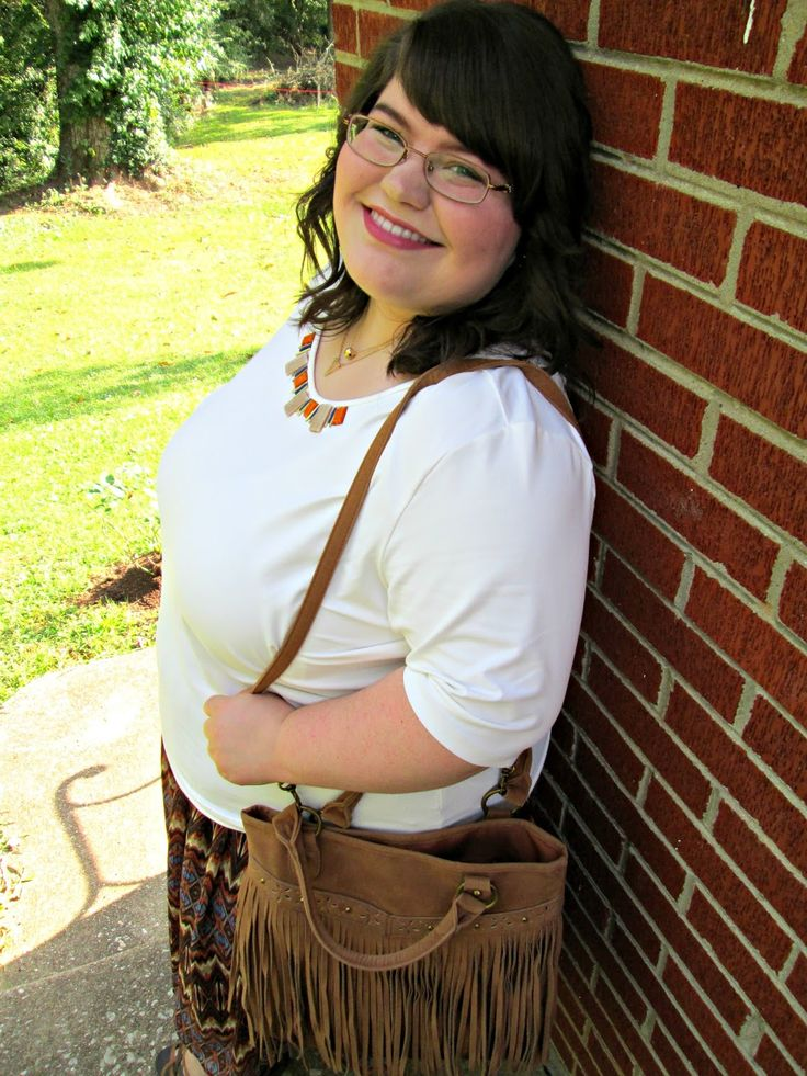 Unique Geek: Plus Size OOTD: Autumn Aztec: Unique Geek: Plus Size OOTD: Autumn Aztec