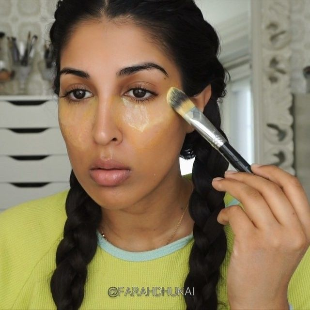 GET RID OF DARK CIRCLES FOREVERRRR  Ingredients: ✅ Buttermilk ✅ Turmeric  Apply to under eye, let dry then wash off with water. Do this as often as you can!  #diy #wakeupandmakeup #hudabeauty #vegas_nay #diyvideos