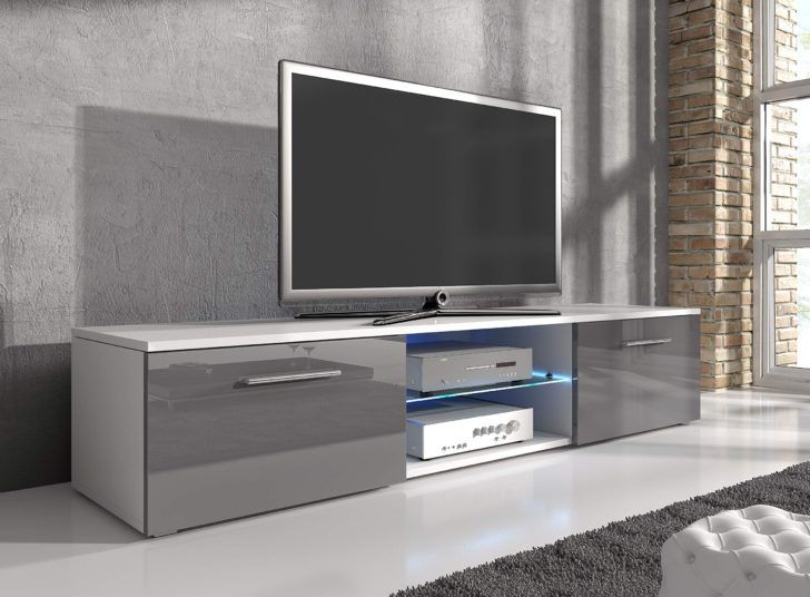 Interior Design Meuble Tele Blanc Meuble Tv Divertissement Samuel