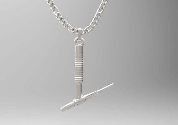 Exclusive Sterling Silver Tig Torch Necklace