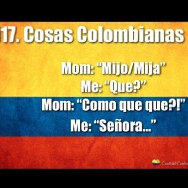 Mima always saids this! Lol