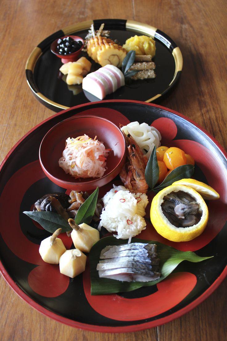 My Osechi ;  New year celebration plates.