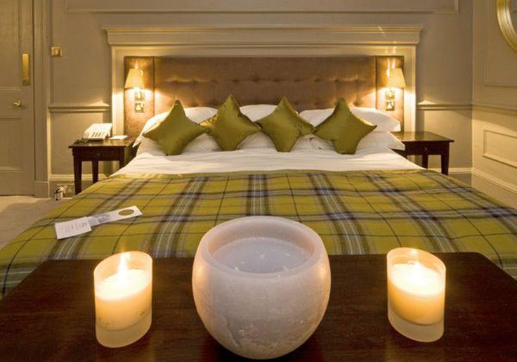 Boutique Hotel | Isle of Eriska interior design by Ward Robinson | Scottish Highlands | Bedroom
