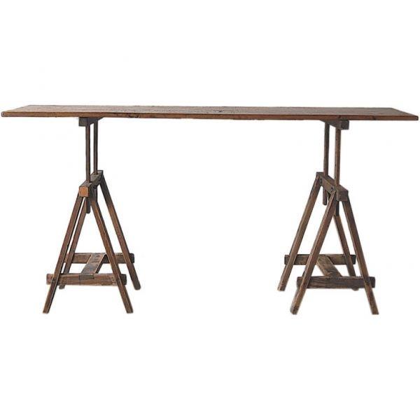 Trestle-based architect's table c. 1910
