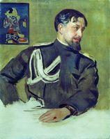 Портрет Н.Д. Милиоти (Б.М. Кустодиев, 1916 г.)