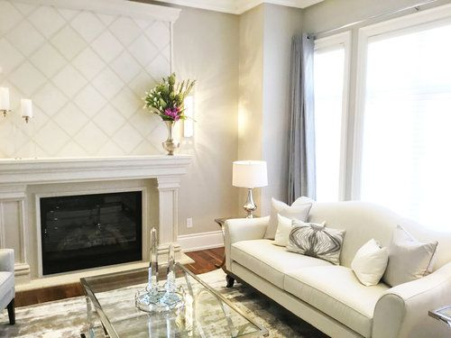 Interior Design/Decor - Soft and feminine Living Room in Toronto, ON Canada by Kimmberly Capone Interior Design    www.kimmberlycapone.com