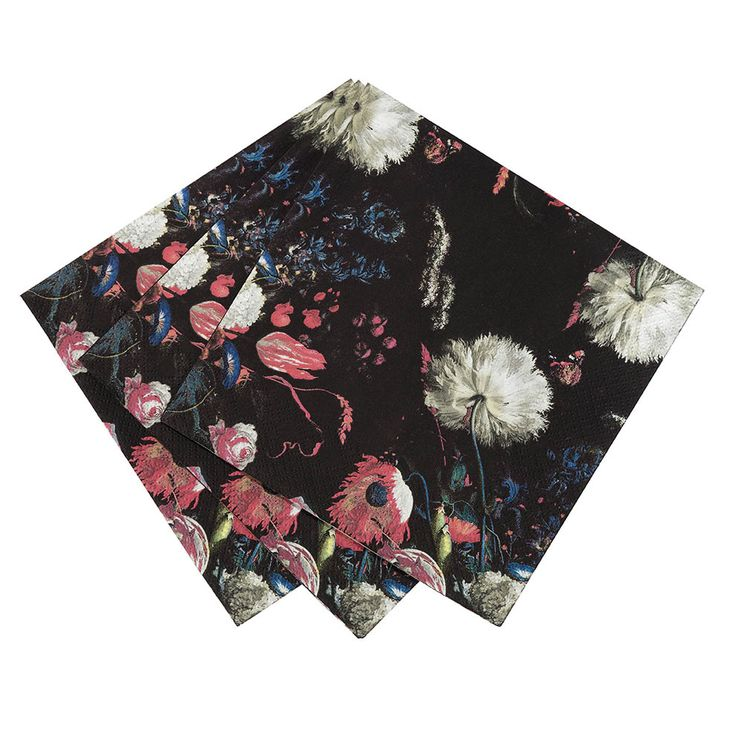 Party Porcelain Baroque Napkins | Talking Tables | Talking Tables