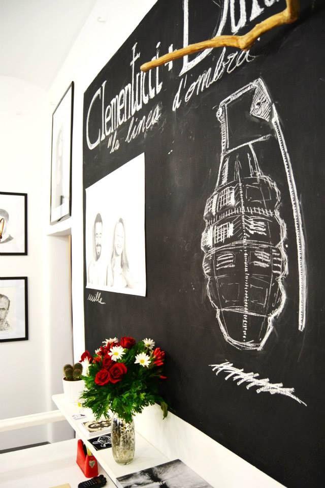 Lavagna per Linea d'ombra  disegni di Duluoz + Daniele Clementucci