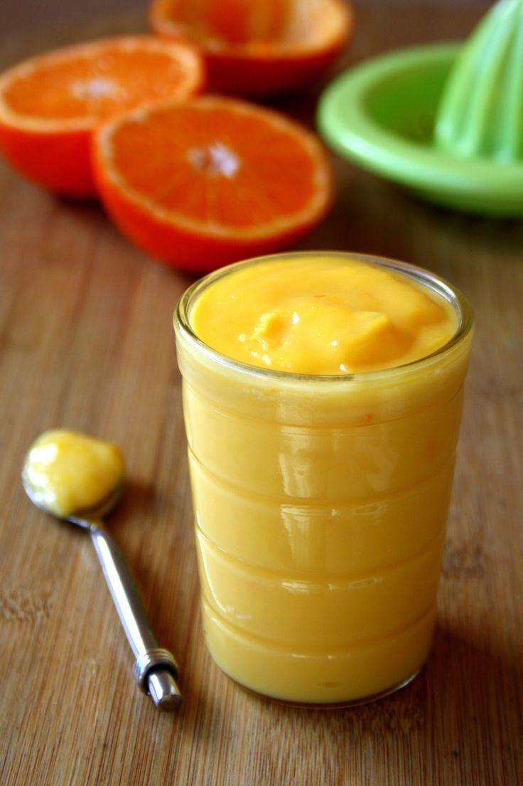 Mandarine Curd (sans beurre) par Amandine Cooking