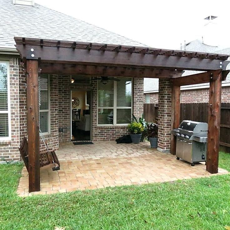 Great Patio Extension Ideas Best Backyard Pergola Only On Outdoor Concrete With Backyard Concrete Ex In 2020 Patio Extension Ideas Backyard Pergola Pergola Plans