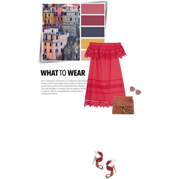 Weekend in Italy by sophiek82 on Polyvore featuring Sea, New York, Aquazzura, Chloé and Christian Dior