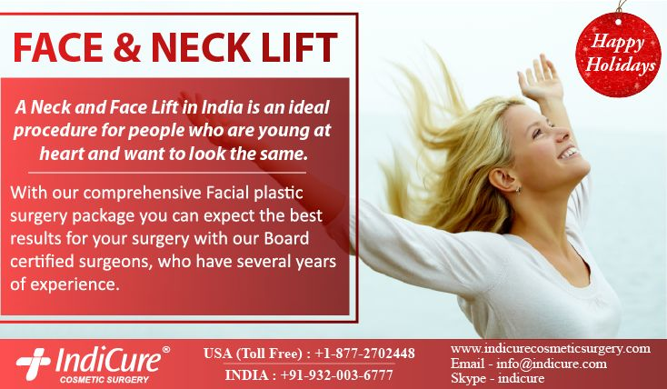 Face plastic surgery in India with IndiCure is done by few of the top cosmetic surgeons in India who are experienced and understand your requirements well.