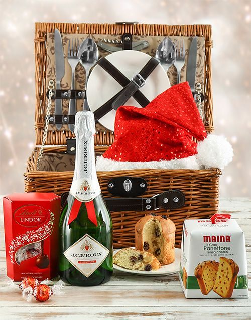 Buy Christmas Picnic Hamper Online - NetGifts