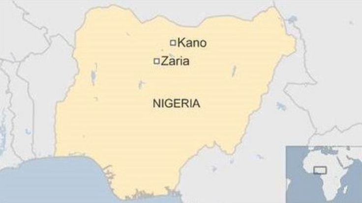 Suicide attack hits Nigeria Shia march - BBC News