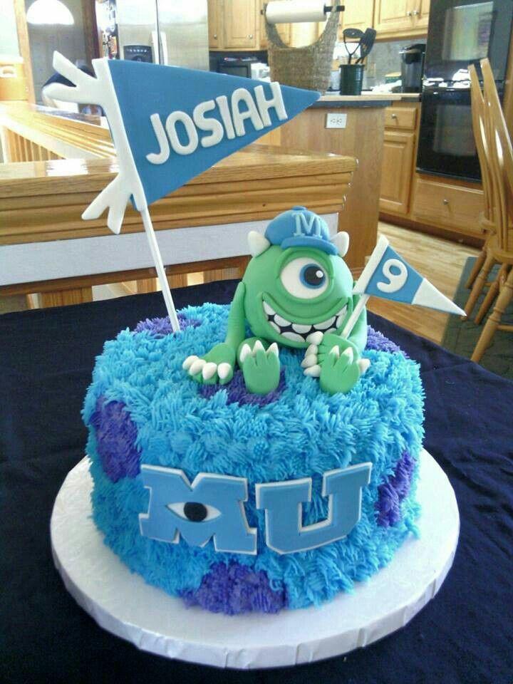 Torta de Monster University