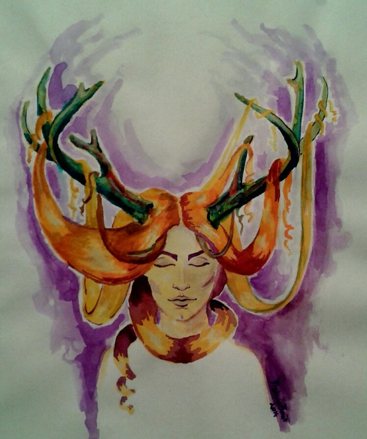 Horned lady
