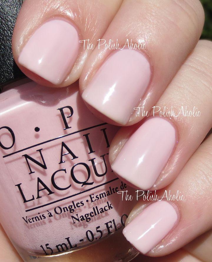 """Sheer Pink Opi Nail Polish: OPI's """"International Crime Caper"""" Nail Polish/gel From OPI"""