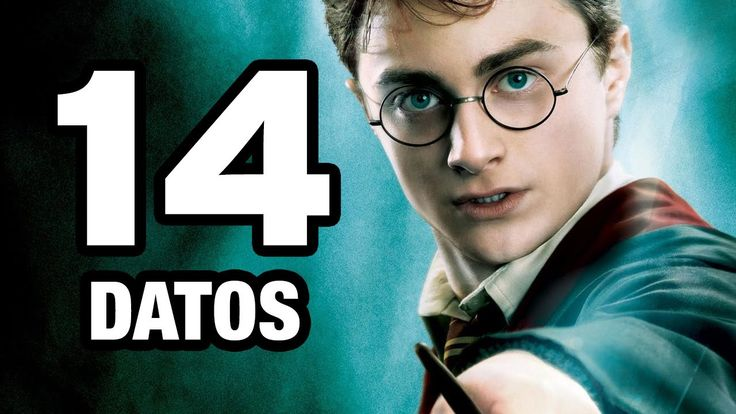 14 curiosidades sobre las películas de HARRY POTTER