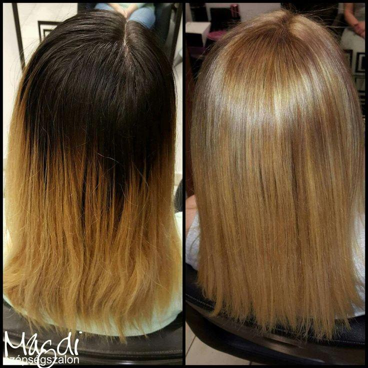 Magdi festése. Te milyen színt szeretnél? 😃 www.magdiszepsegszalon.hu  #hairstyle #hair #hairfasion #haj #festetthaj #coloredhair #széphaj #szépségszalon #beautysalon #fodrász #hairdresser #ilovemyhair #ilovemyjob❤️