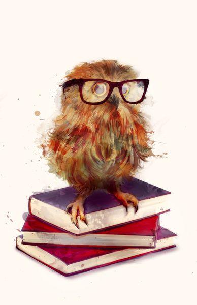 'Smart Owl' by Amy Hamilton