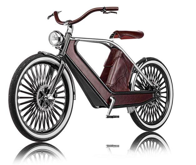 Cykno é o nome desta estilosa bicicleta elétrica, que mescla a mais inovadora tecnologia com um estilo retro irresistível. Em um projeto de colaboração entre vários designers italianos, a Cykno é uma verdadeira obra de arte. A bicicleta é trabalhada a partir de aço inoxidável e é desse material que é feita a lâmina que sustenta o asse...