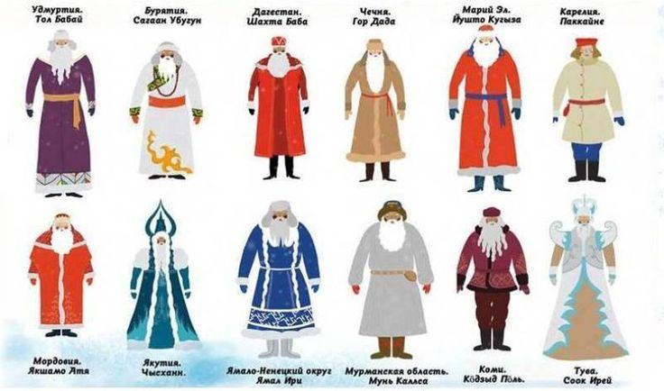 Деды Морозы разных народов России | Молодая Гвардия