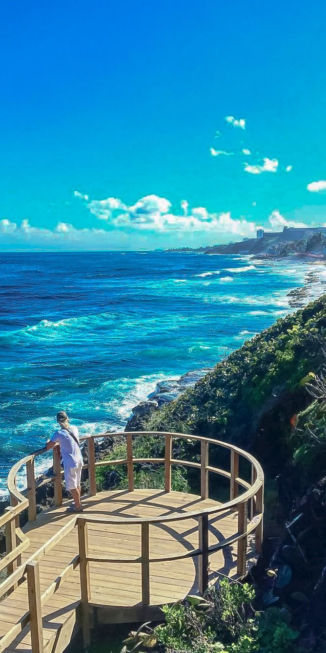 San Juan, Puerto Rico | Come Seek the shores of this multi-faceted destination, which possesses an abundance of both majestic seaside beauty and traditional, historic architecture. Photo by Evelina.
