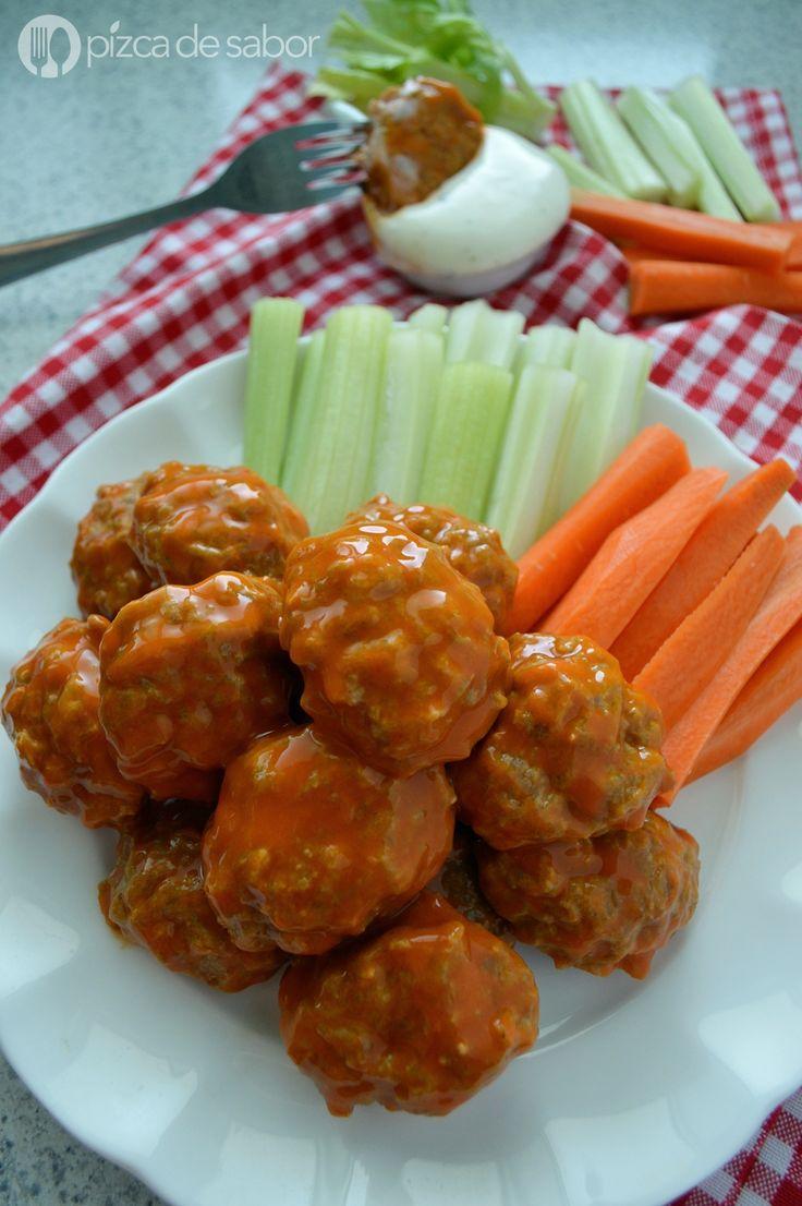 Alb ndigas o nuggets de pollo estilo boneless receta - Acompanamiento para albondigas ...