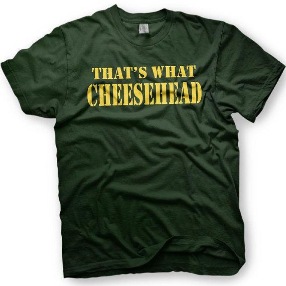 That's What Cheesehead - Green Bay Packers - Wisconsin - 2X-4X - T-shirts