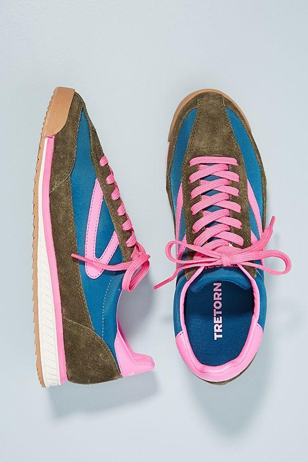 Sneakers, Pink sneakers, Tretorn sneakers