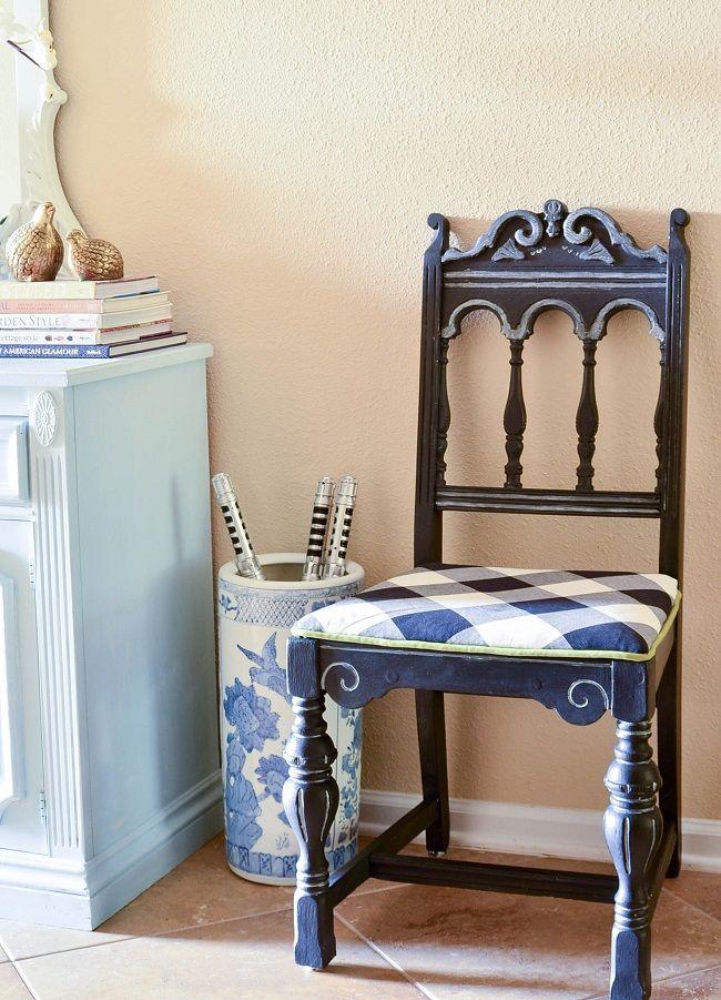 diy metallic furniture. Metallic Furniture Chair Makeover Diy