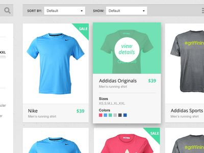 Product Catalog by Virgil Pana (http://dribbble.com/virgilpana) on Dribble at http://dribbble.com/shots/986548-Product-Catalog