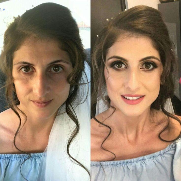 Bride makeup 🌞🌞🌞