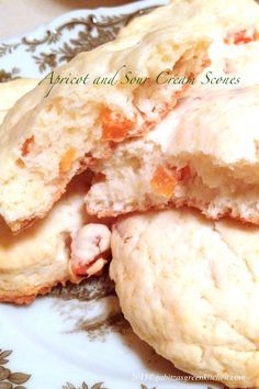 Apricot and Sour Cream Scones | Recipe | Scones, Sour Cream and Tea ...