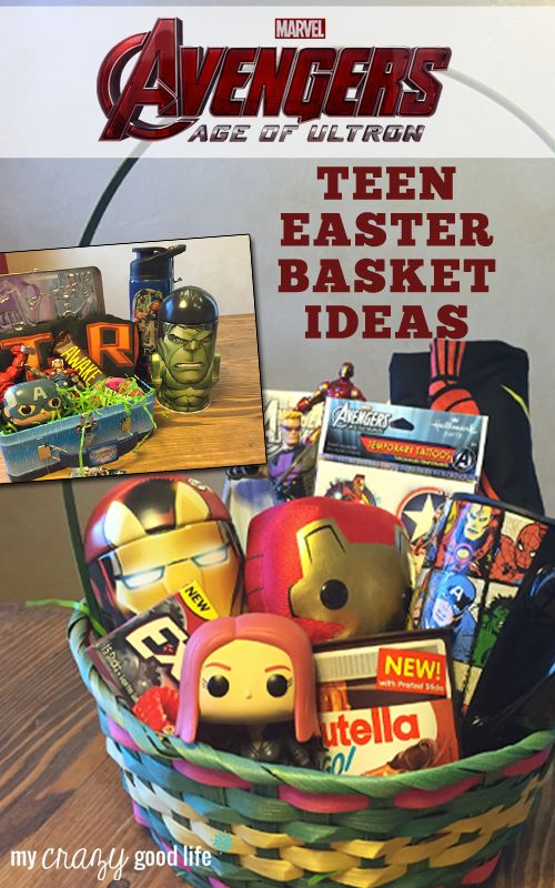 Avengers Easter Basket Ideas For Teens Avengersevent
