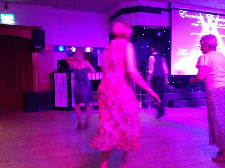 Dancing at Alvaston Hall