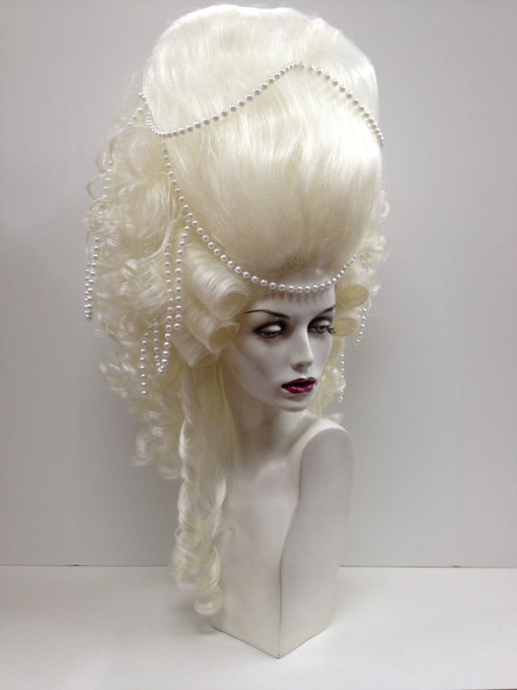 Marie Antoinette Wigs Bighair Marieantoinette Fashion Style Dragqueens Hair Style