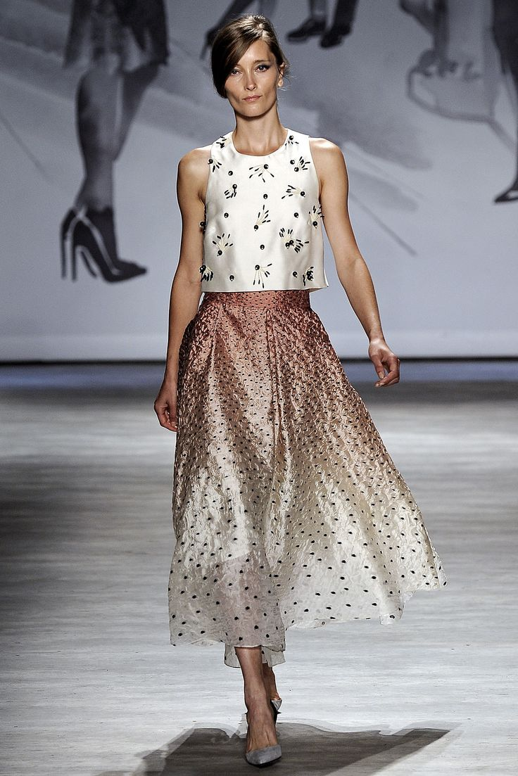 Lela Rose Spring 2015 Ready-to-Wear Fashion Show - Iekeliene Stange