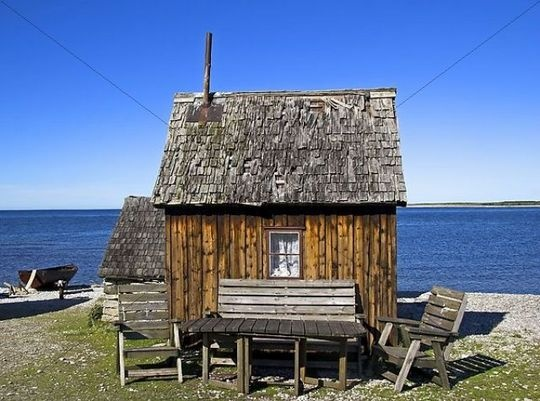 Gotland, Sweden, I bet this is a fishing shack!