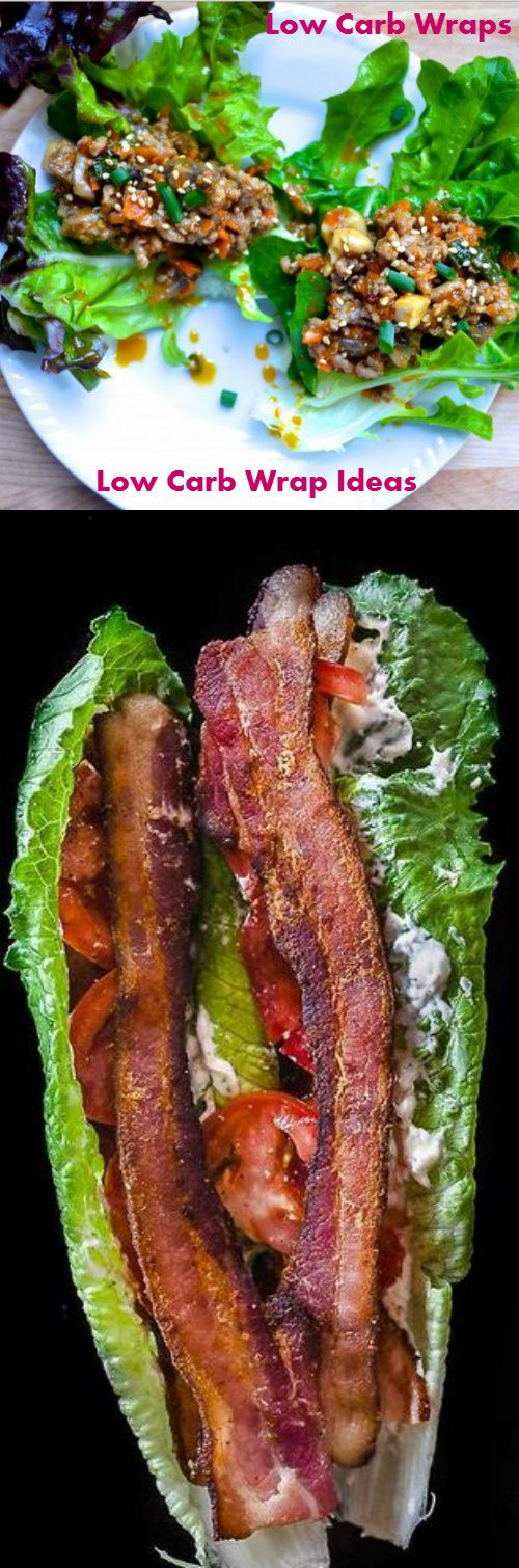 Low Carb Wraps Low Carb Wrap Ideas ♥►◄♥ PLUS DAILY updates on healthy wrap ideas #carbswitch carbswitch.com