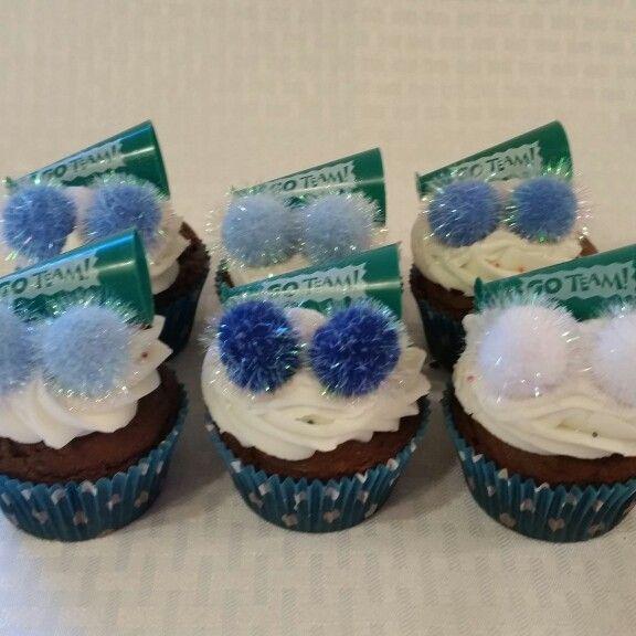 Cheerleading Cupcakes. #nenasdelights