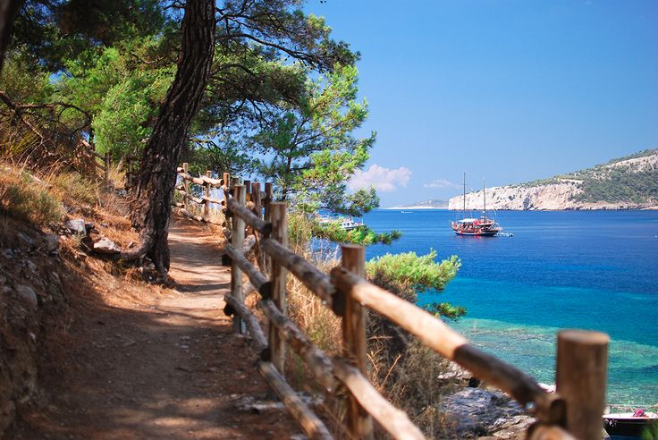 Aliki beach, Thasos, Greece on Behance