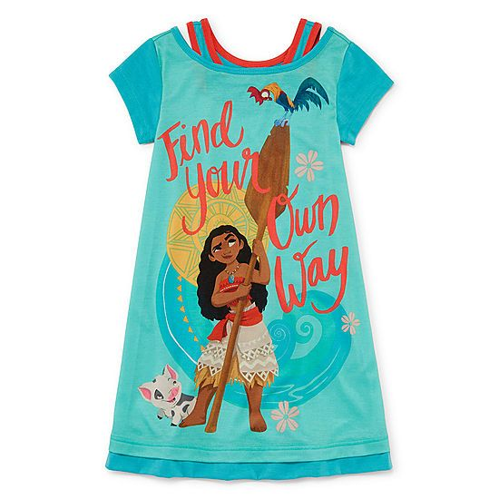 Disney Emoji Nightshirt For Girls