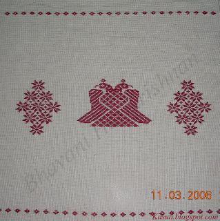 Negi Kasuti embroidery sampler