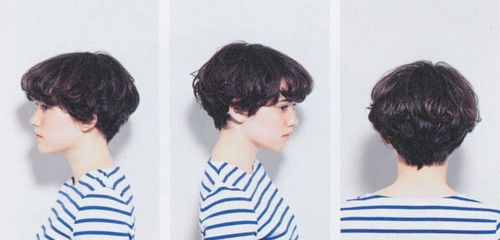 Growing out my pixie like this, part 1