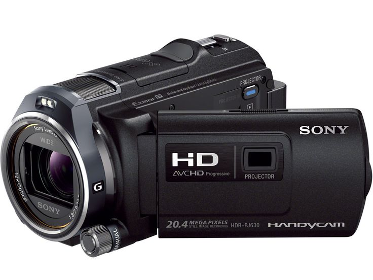 I used a Sony handycam to obtain my footage, providing a decent quality video.