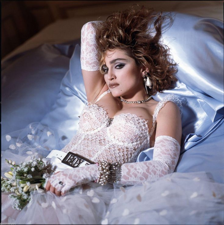Madonna Like A Virgin Stretched Canvas Wall Art Poster Print Album Cover Dress | eBay