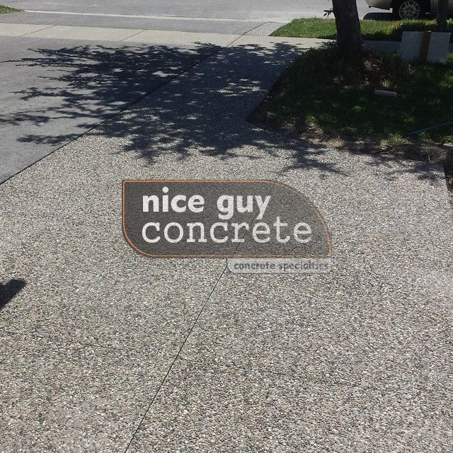 exposed aggregate concrete contractor in #mississuaga, Ontario #exposedaggregate #concretecontractor